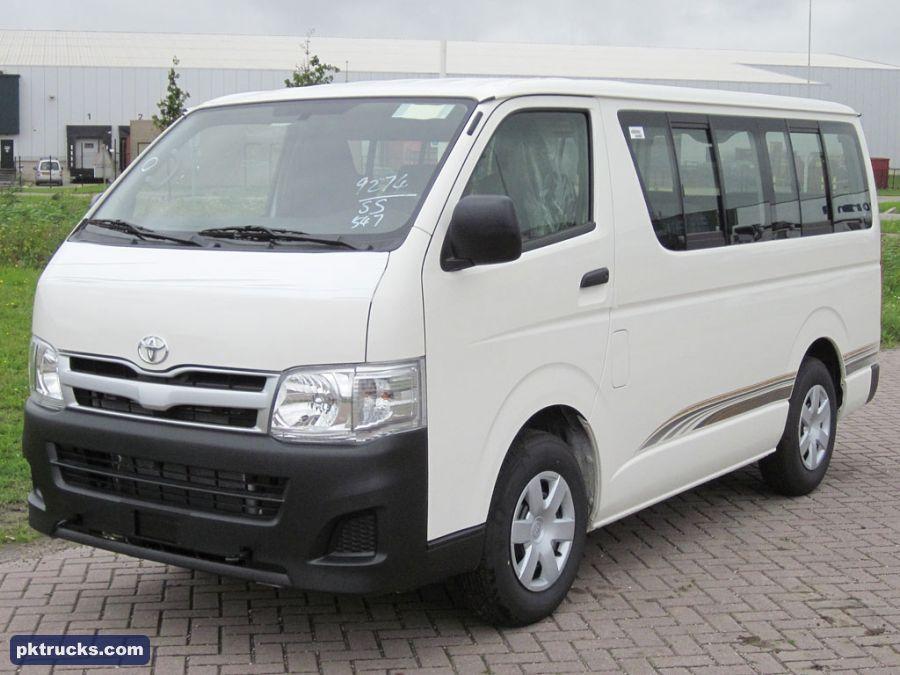 2 units Toyota HiAce 4x2 minibus-2011  Price: € 24.000,-  More information: http://www.pktrucks.com/stock/view/div2397