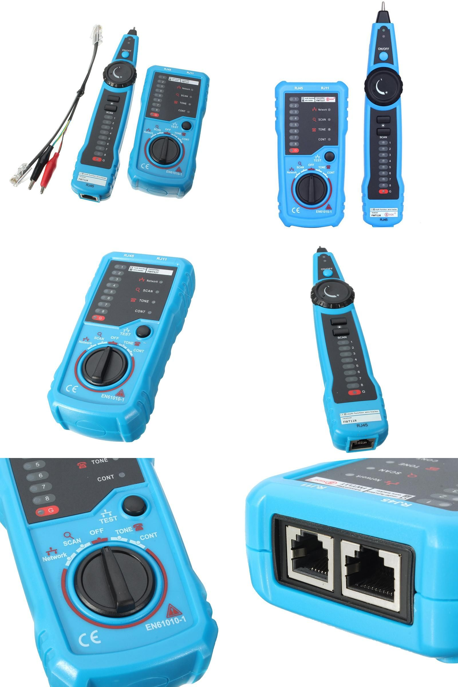 Visit to Buy] Cat5 Cat6 RJ11 RJ45 Telephone Wire Tracker Tracer ...