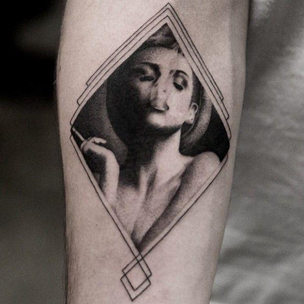 Trendy Black And Grey Tattoos By Balazs Bercsenyi