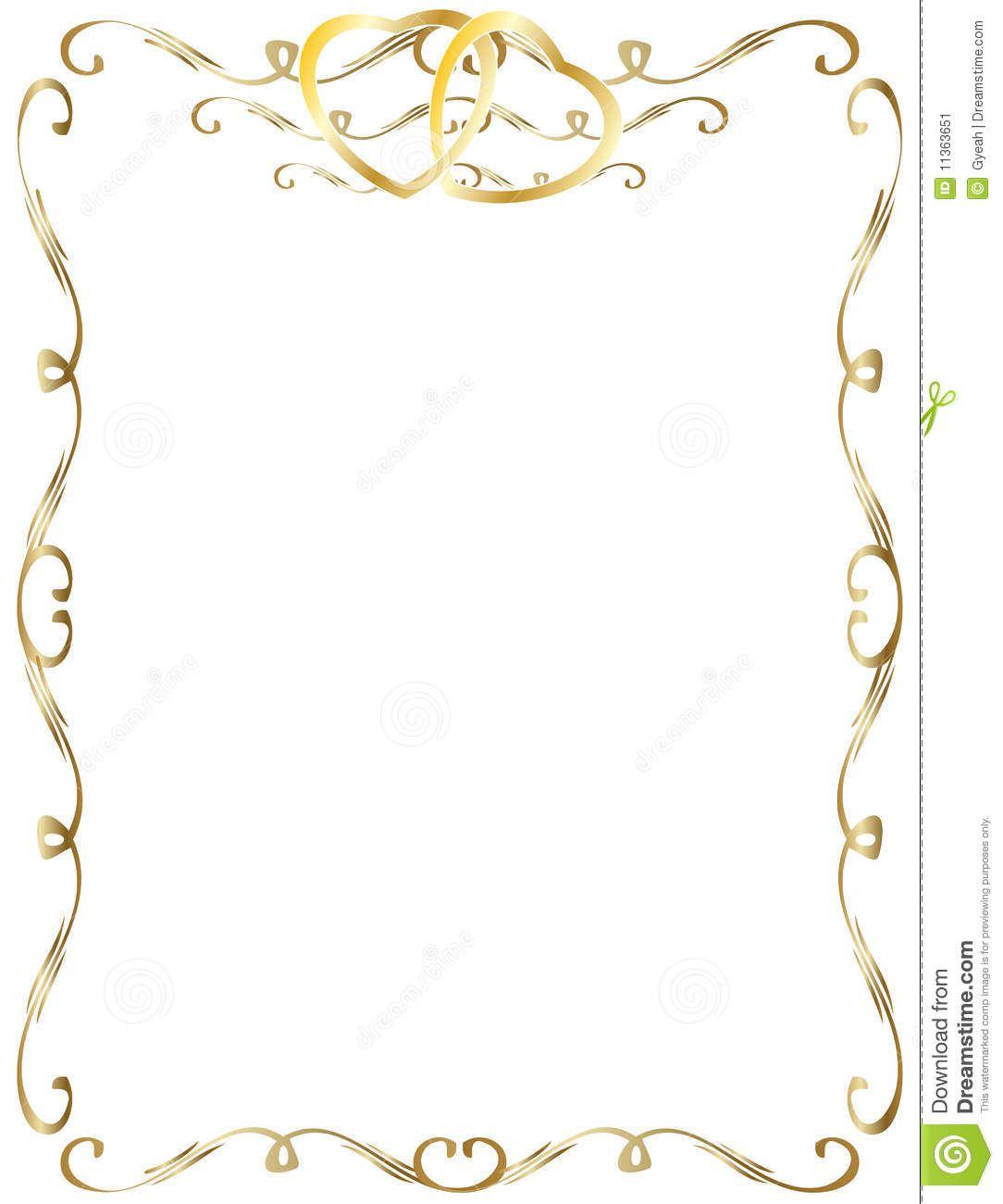 Wedding Invitation Borders Clip Art: 50th+Wedding+Anniversary+Clip+Art+Borders