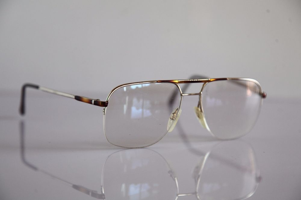 RODENSTOCK GM Eyewear, Gold Half Rimless Frame,  RX-Able Prescription lenses.  #Rodenstock