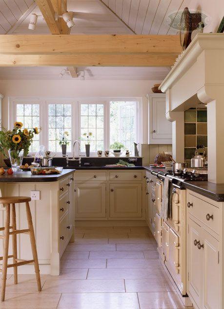 Britischer Landhausstil, Rustikale Küchenschränke, Rustikale Küchen,  Küchenrenovierung, Zimmer Küche, Weiße Küchen, Ideen Für Die Küche, Französische  Küchen ...
