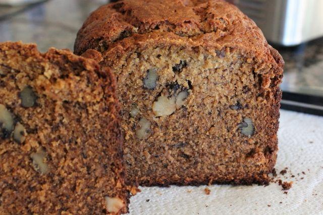 Banana Nut Bread A Bread Machine Recipe Bread Machine Banana Nut Bread Bread Maker Recipes