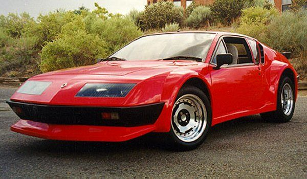 renault alpine a310 1977 weirdwheels. Black Bedroom Furniture Sets. Home Design Ideas