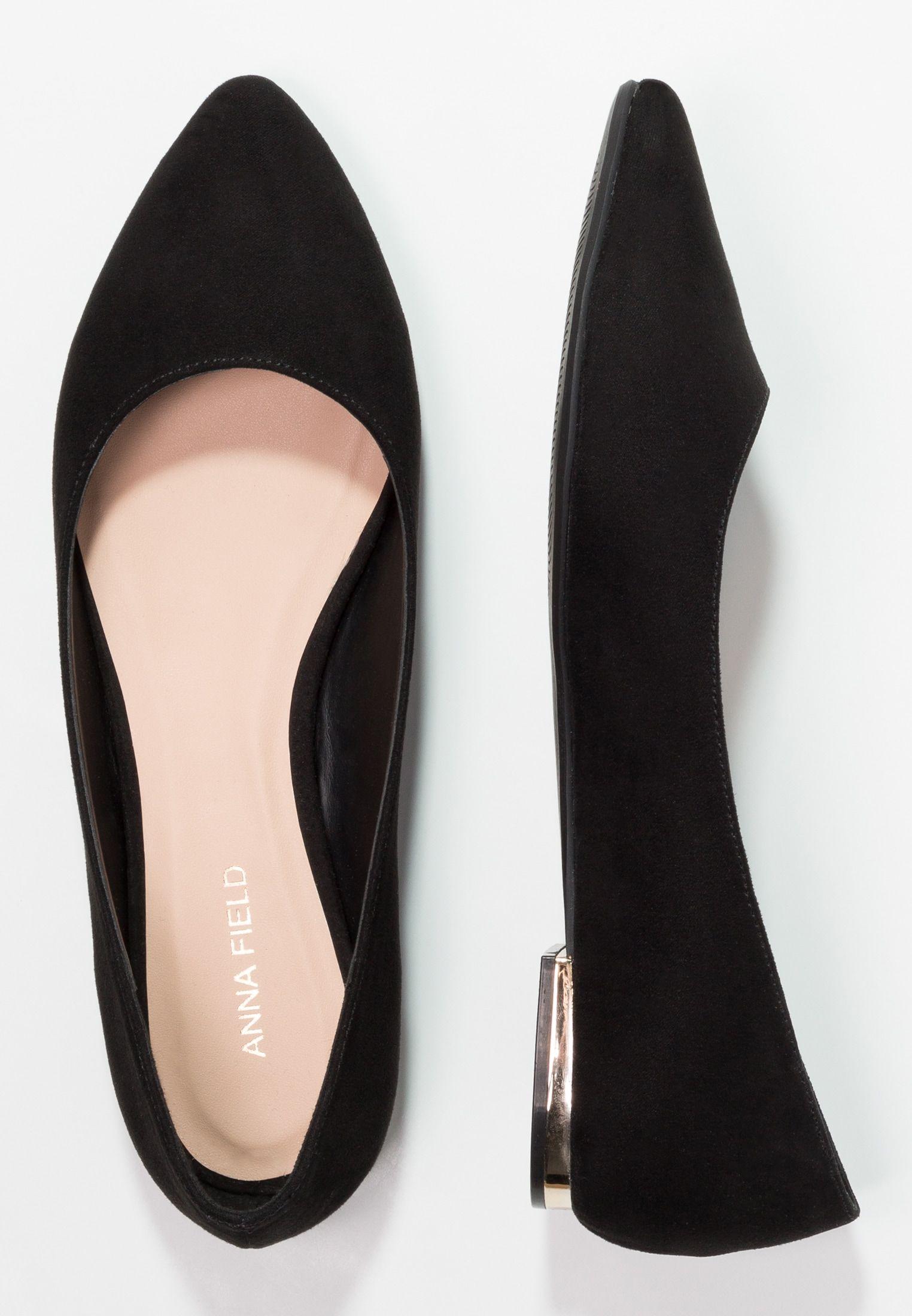f29e6670346 Ballerina - black @ Zalando.no 🛒 в 2019 г. | Shoes | Black ...