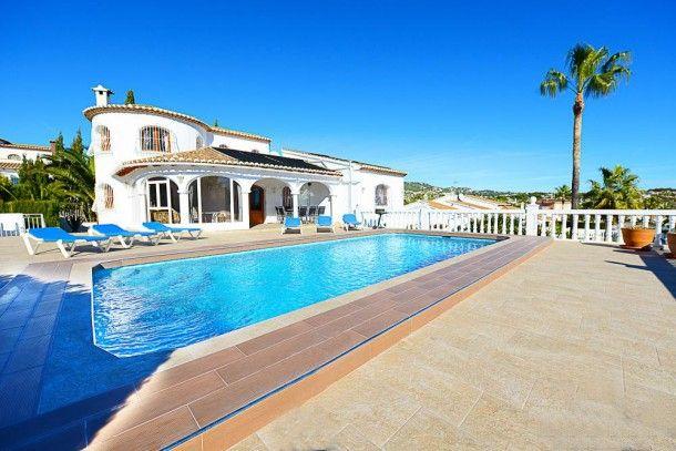 Méditerranée #Espagne #Costablanca #Calpe #Villa #Piscine #Soleil