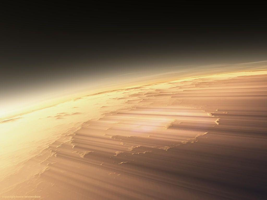 Martian Sunrises As Seen By The HiRISE Orbiter SPACE - Sunrise looks like mars