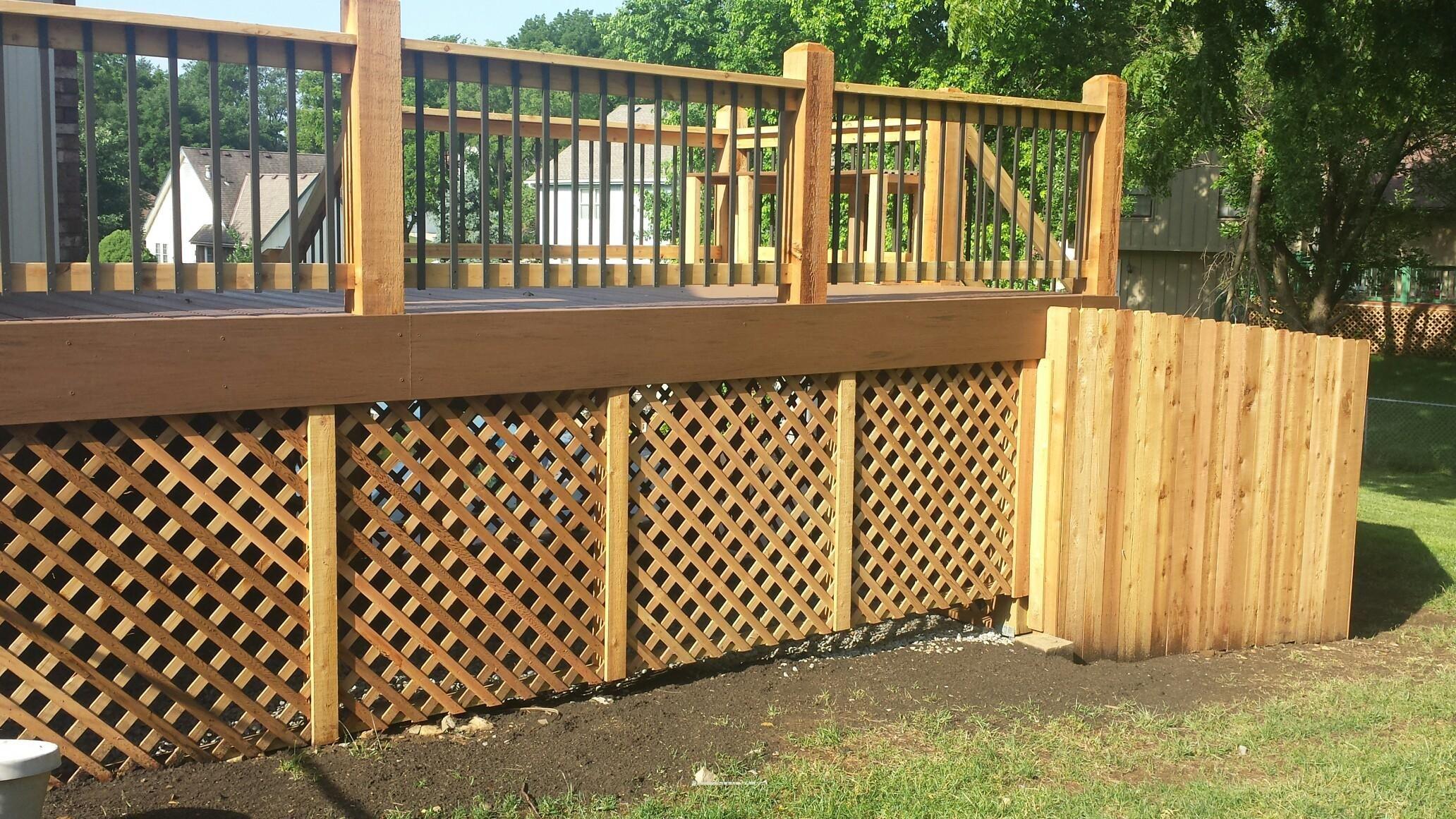 Deck beautiful outdoor