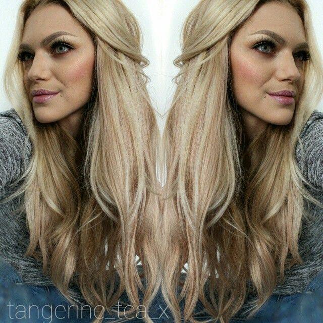 Tangerineteax wearing butterscotch blonde clip in hair tangerineteax wearing butterscotch blonde clip in hair extensions myfantasyhair luxury pmusecretfo Gallery