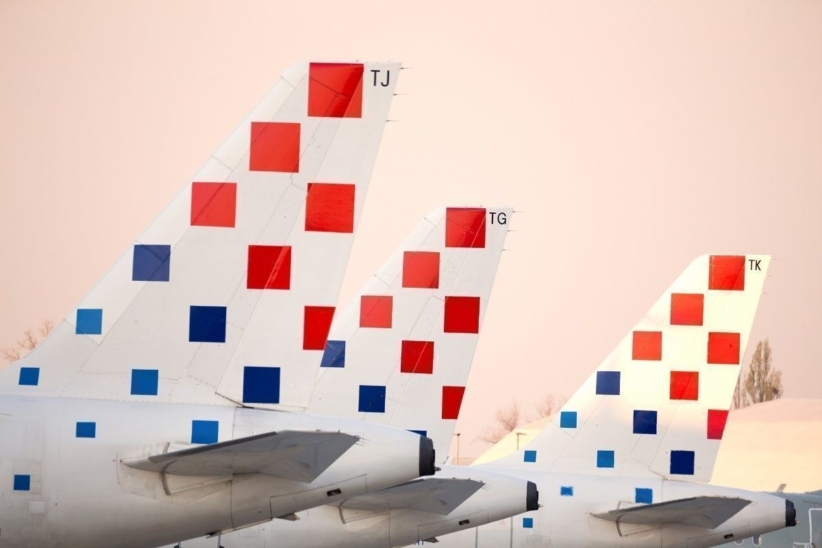 Croatia Airlines In A Regional Expansion New Routes To Sofia Tirana And Podgorica Aircraft Aircraftengineering Digitalize Croatia Airlines Tirana Podgorica
