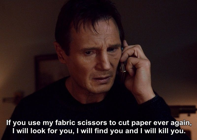 e9eb783f0f2b4cd538126d5429e802fc no, i would not actually kill anyone if they used my fabric