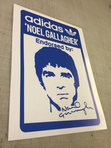 the latest 99897 aa079 Adidas noel gallagher a3 poster print - spzl oasis ian brown liam,