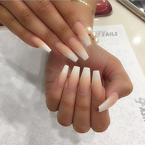50 Stunning Ombre Nails Design Ideas With Images Ombre Acrylic Nails Ambre Nails Faded Nails