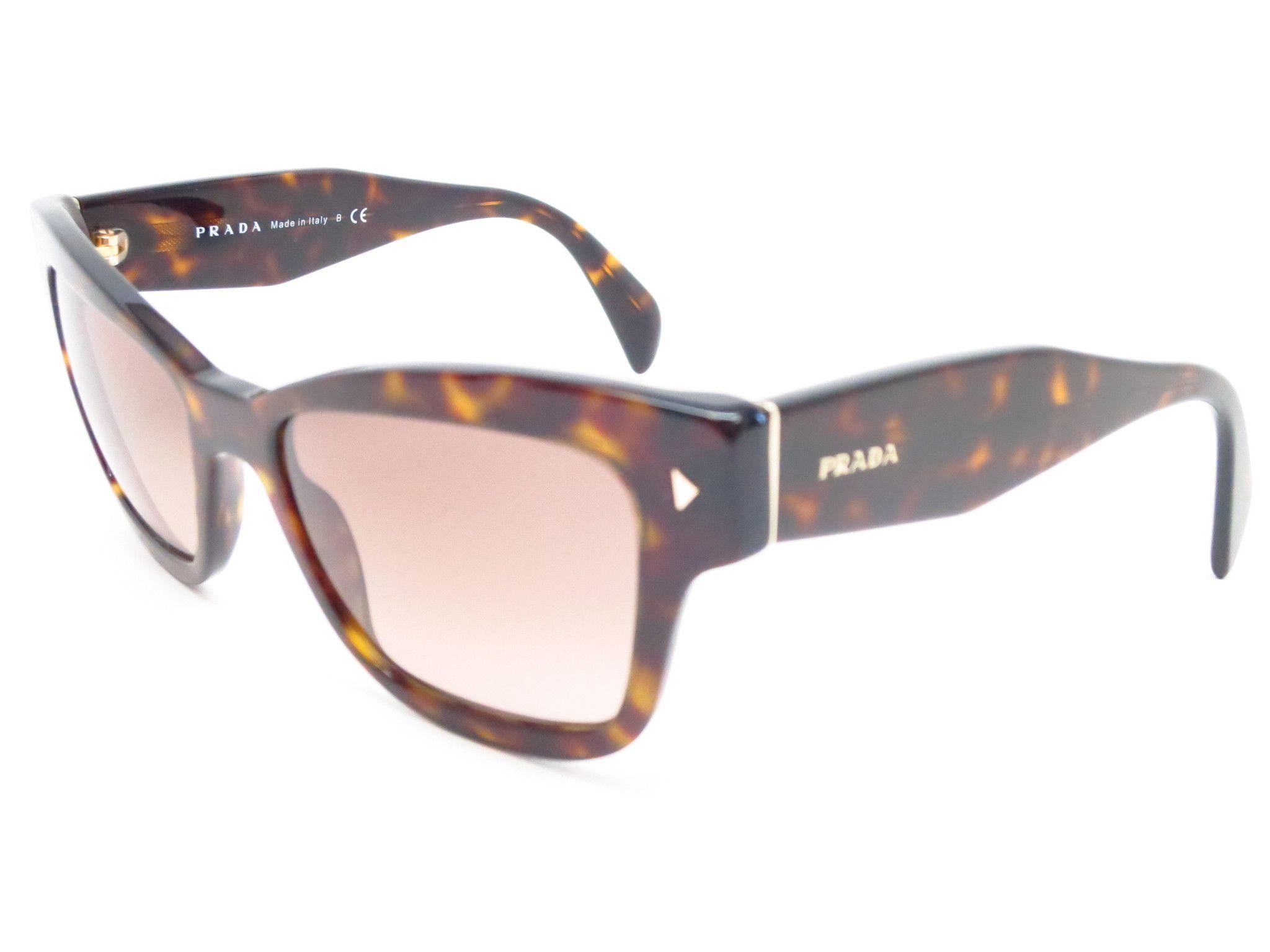 Prada SPR 29R 2AU-3D0 Havana Sunglasses | Prada Linea Rosa ...