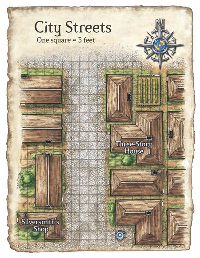 Dnd Street Map : street, Streets, Fantasy, Layout,, Dungeon