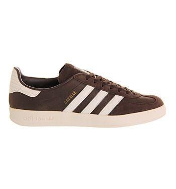 Adidas Gazelle Indoor Dark Brown Bone - His trainers