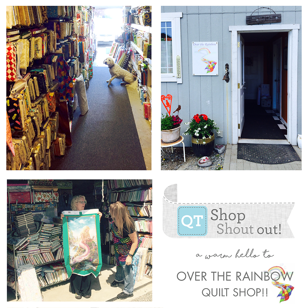 Shout out to Over the Rainbow Quilt Shop in Camano Island, WA ... : rainbow quilt shop - Adamdwight.com