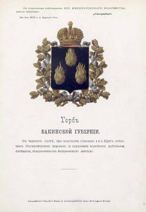 Изучаем гербы губерний и областей Российской империи