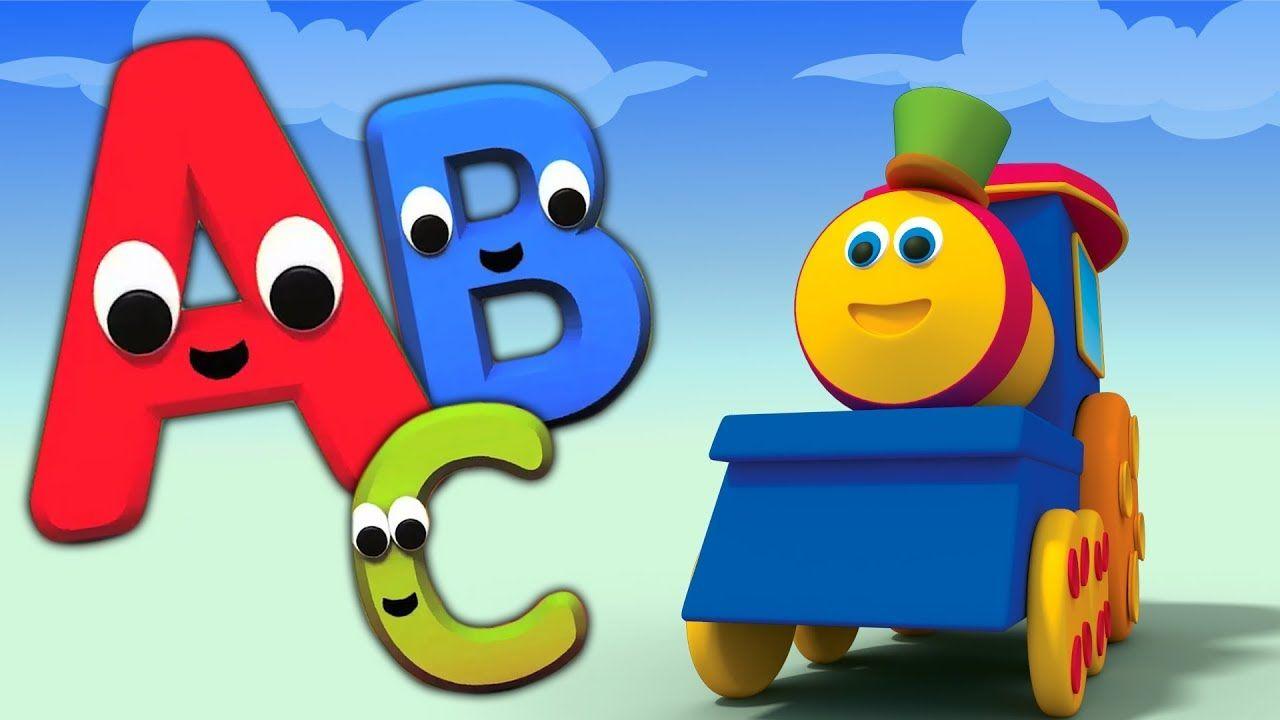 Bob El Tren Bob Aventura Alfabeto Bob Canción Abc Tren Niños En La Escuela Canciones Infantiles Abecedario Para Niños