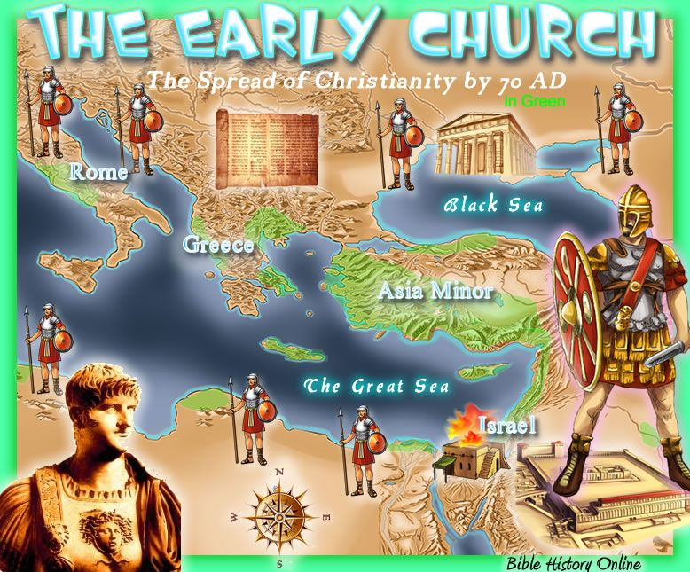 a journey to spread the word of christianity 2014-9-16 the origins and spread of christianity 361 introduction  the word gospel means good  on the 90-mile journey to his hometown of bethlehem,.