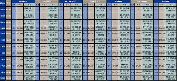 OFM New schedule on load shedding in the Welkom area fun Pinterest - early mortgage payoff calculator spreadsheet