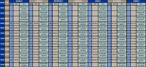 OFM New schedule on load shedding in the Welkom area fun Pinterest - loan amortization spreadsheet