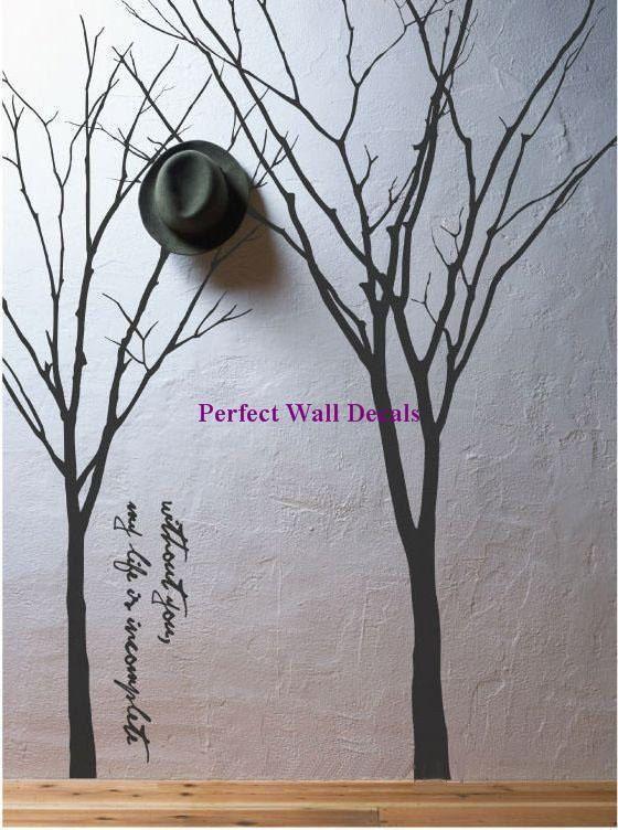 Branch Vinyl Wall Decals Con Immagini Decalcomanie Da Parete