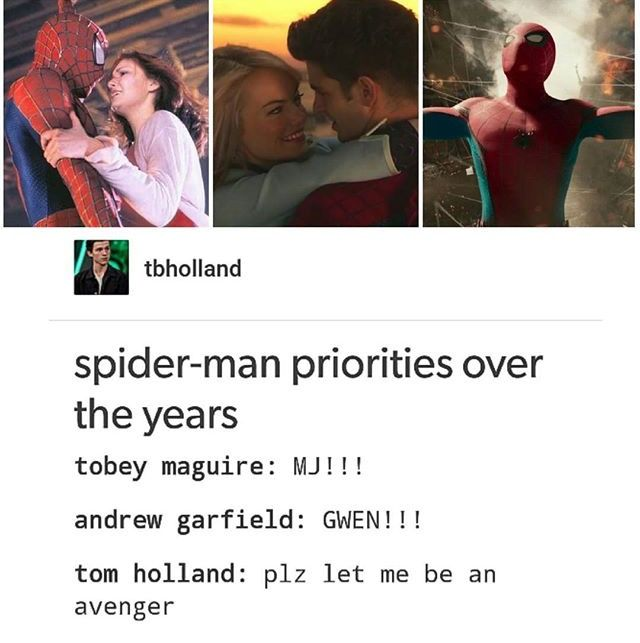 Aaaand tell me again which was the most successful? That's right, homecoming. Because the romance wasn't the main drive of the plot. #peterparker