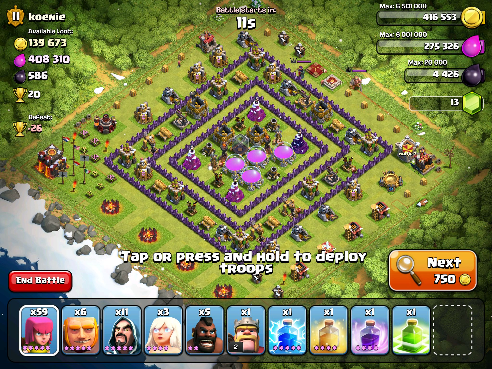 rectangle not square coc base clash of clans pinterest