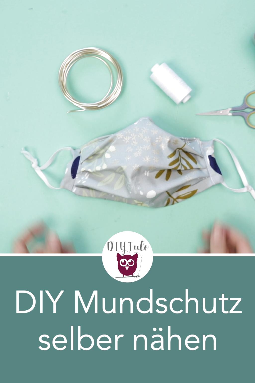 DIY Maske selber basteln / Mundschutz & Atemschutzmaske