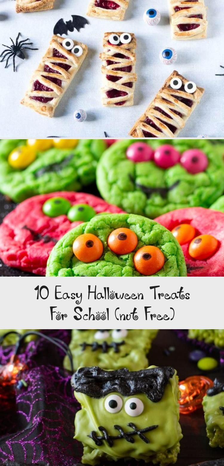 Free Food On Halloween 2020 10 Easy Halloween Treats For School (nut Free)   Food Recipes