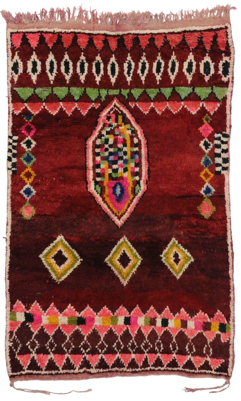 boho chic berber moroccan rug with contemporary abstract style from a unique collection of on boho chic kitchen rugs id=94754