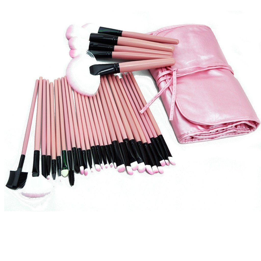 ZENITH FASHION 32Pcs Makeup Beauty Professional Pink