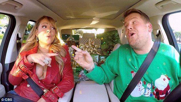 Mariah Carey And James Cordon Do Christmas Carpool Karaoke Carpool Karaoke Christmas Carpool Karaoke Mariah Carey