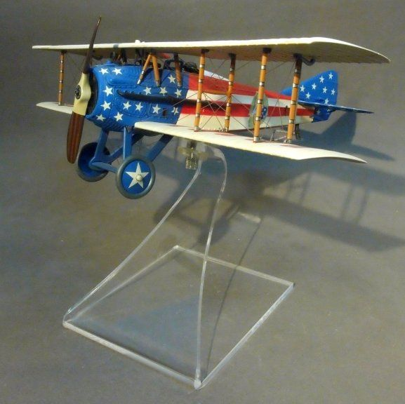 'Stars and Stripes' SPAD XIII, 94th Aero Squadron, USAS, Nieuwied, Germany 1919, Lt. Reed Chambers by John Jenkins Designs and available at www.TreefrogTreasures.com