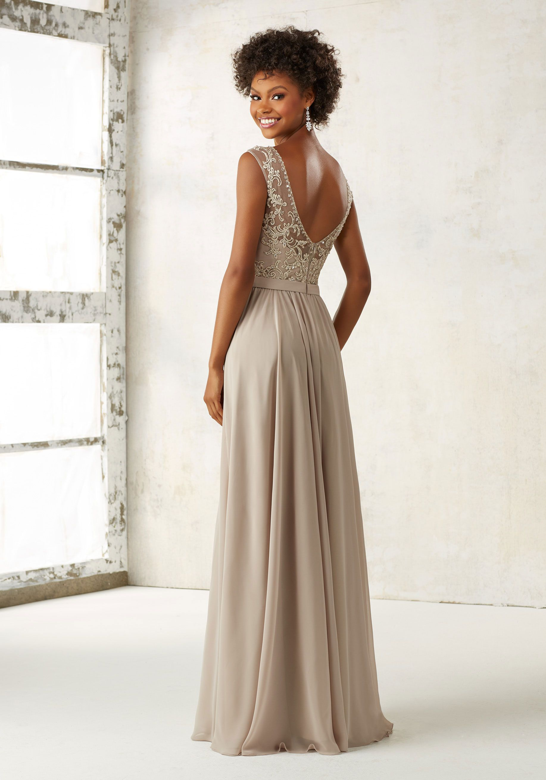 Morilee by madeline gardner bridesmaids style 21522 ornate morilee by madeline gardner bridesmaids style 21522 ornate embroidery and beading accentents the illusion bodice ombrellifo Gallery