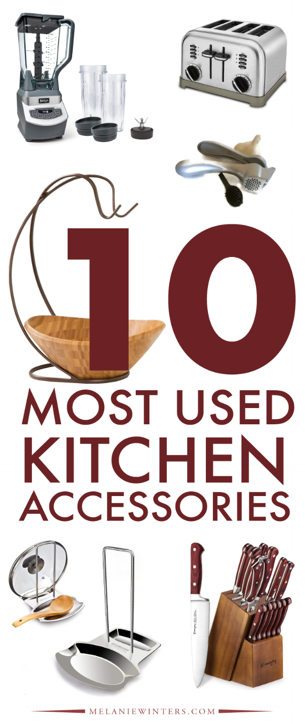 10 Most Used Kitchen Accessories Housewarming registry