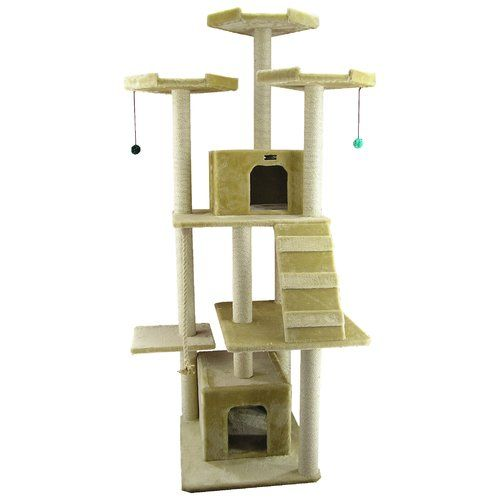 208cm Cat Tree Armarkat Cat Tree Small Cat Breeds Cats