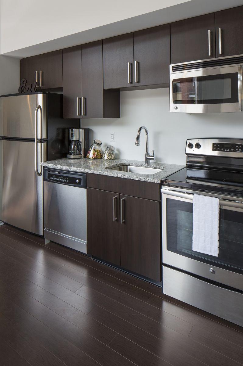 Sneak Peek Of The Kitchen At Delray Tower Apartments In Alexandria Http Www Delraytower Kitchen Remodel Small Kitchen Furniture Design Kitchen Design Small