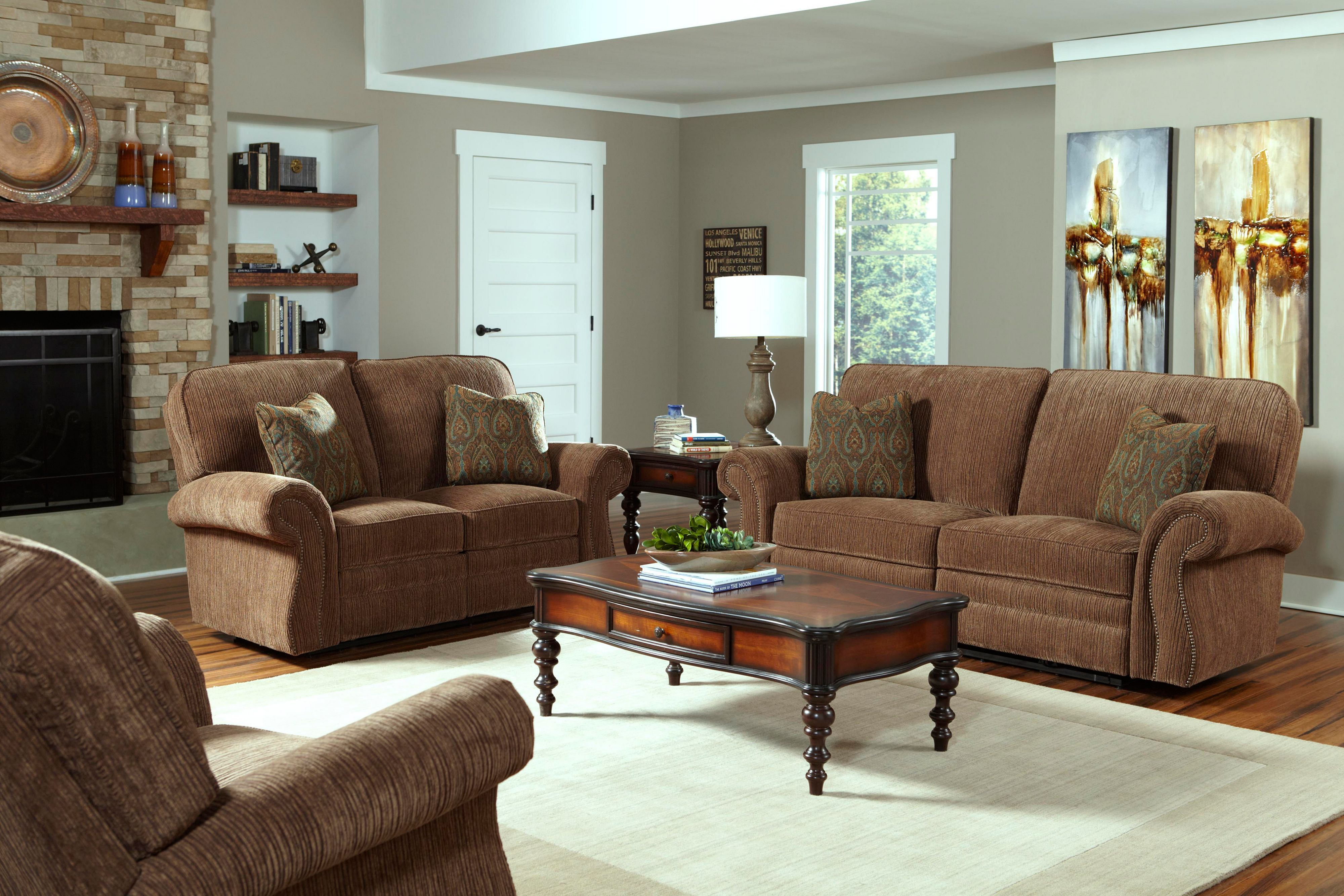Billings POWER Recliner Sofa Collection B