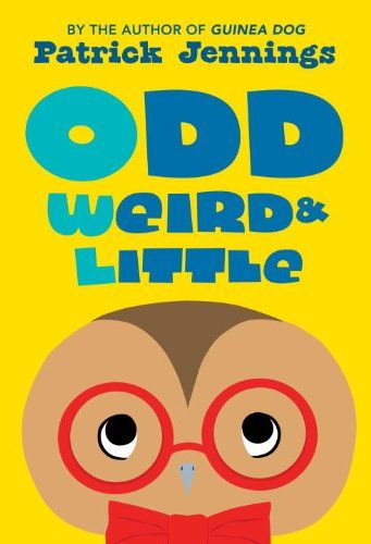 Odd, Weird & Little by Patrick Jennings http://www.amazon.com/dp/1606843745/ref=cm_sw_r_pi_dp_cpAJtb0DNHXXK9SC