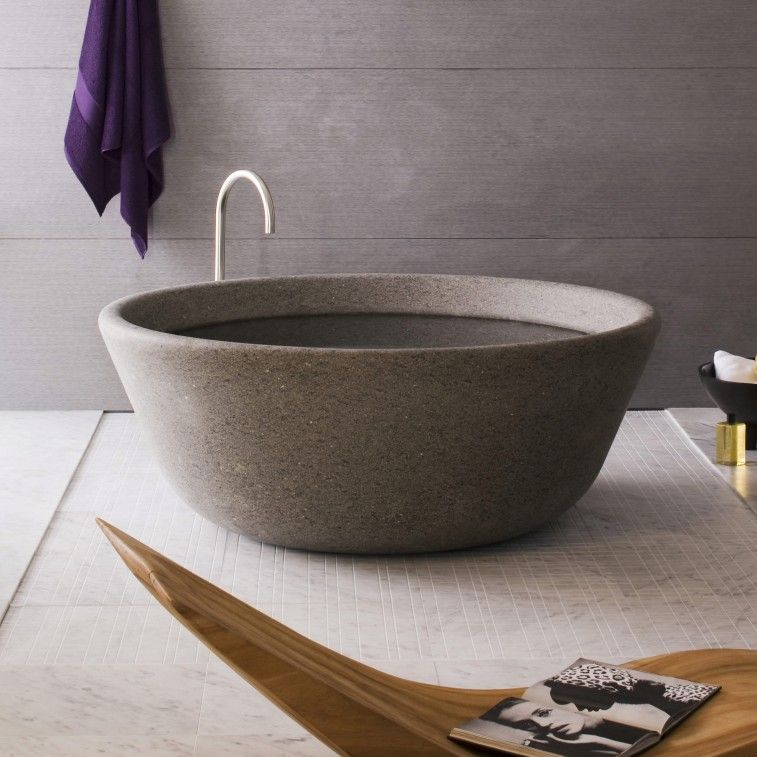 Spa Bathtub Is The Expression Of A Conversation Between