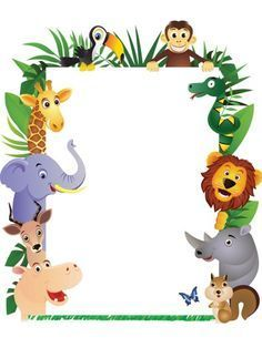 Jungle Party Personalised Invitations Click On The Links
