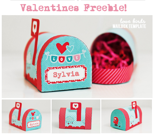 Free Printable Valentineu0027s Mailbox (Facebook Offer)