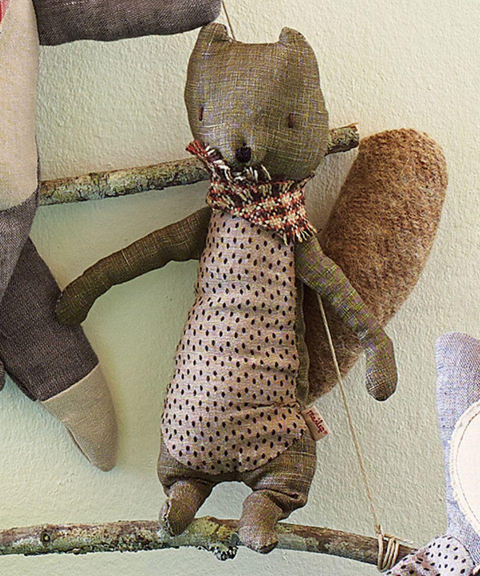 Look what I found on #zulily! Brown Handmade Scandi Friends—Squirrel by Hanna Andersson #zulilyfinds