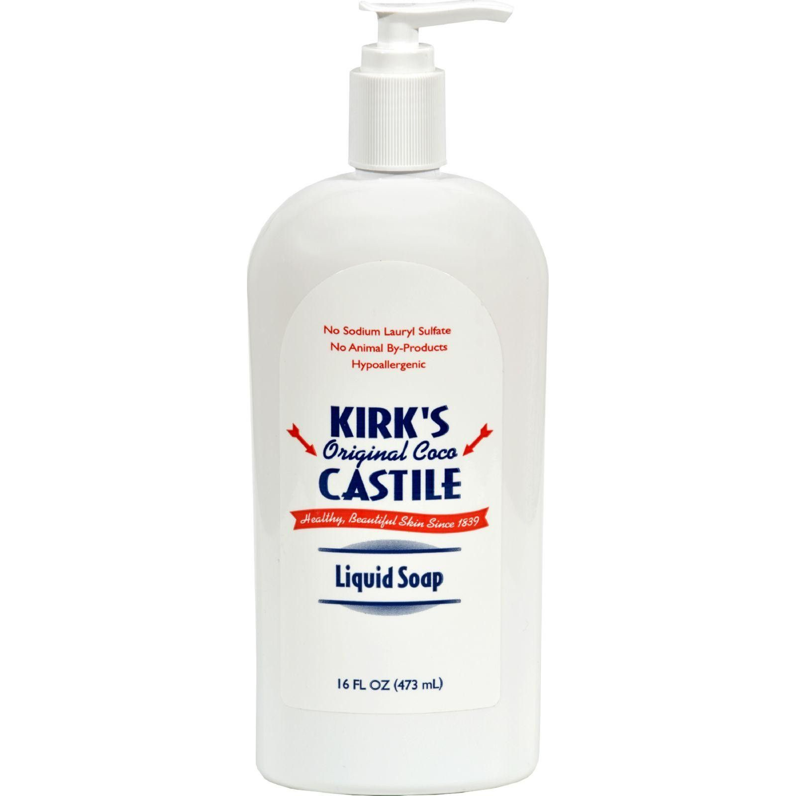 Kirk's Natural Original Coco Castile Liquid Soap With Pump - 16 Fl Oz  #love #inspiredbeacon #organic  #LiquidHandSoap #BodyCare
