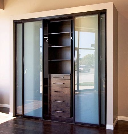 Beautiful Reach In Closet Inside And Out Closets Design Slidingglassdoors
