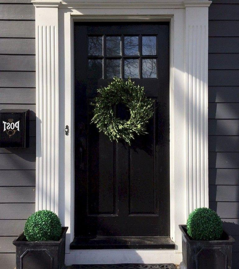 100 Brilliant Front Door Decorating Ideas Exterior Doors Front Door Front Entry Doors