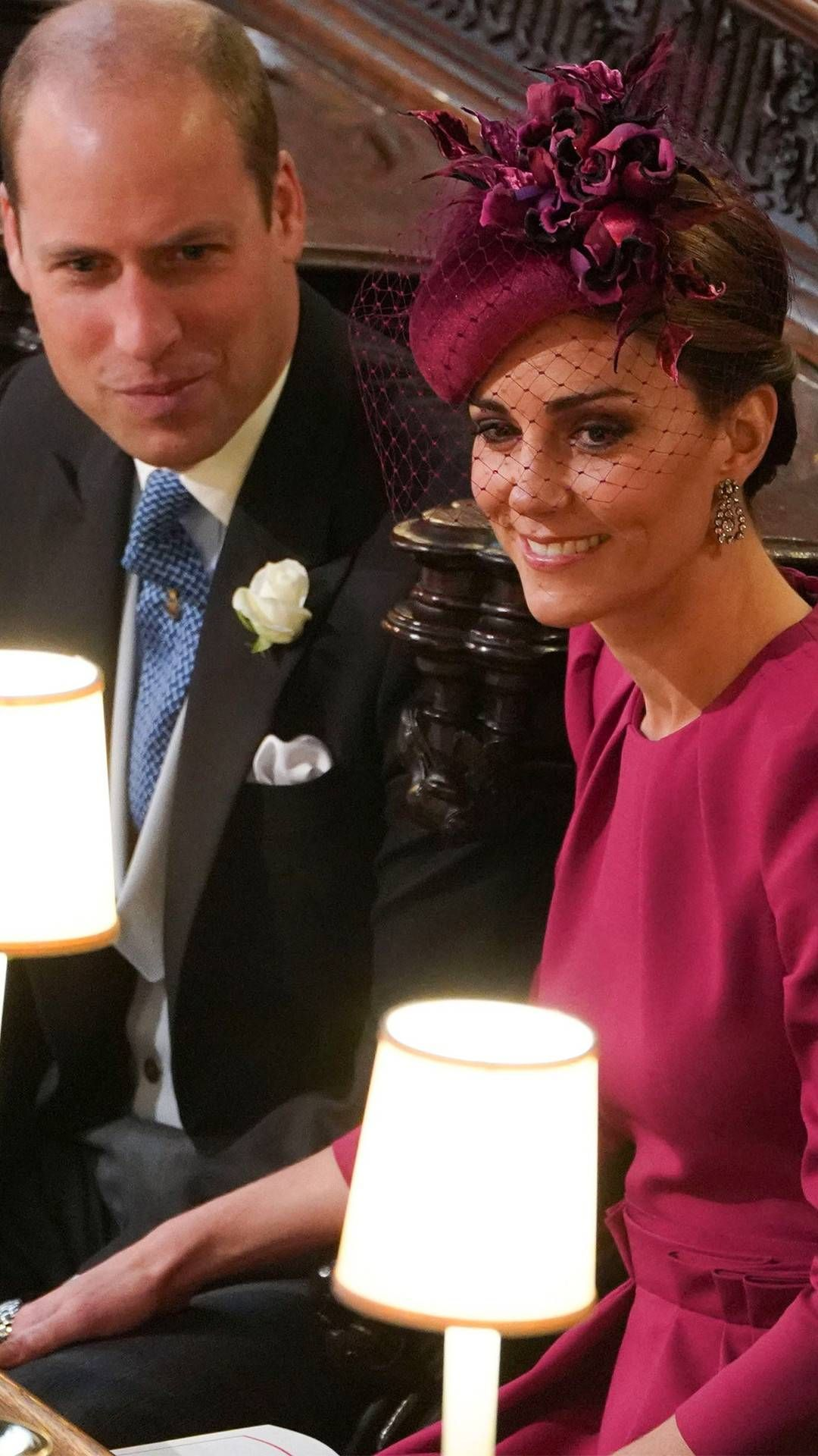 Prince William Kate Middleton From Princess Eugenie And Jack Brooksbank S Royal Weddin Kate Middleton Wedding Prince William And Kate Princess Kate Middleton