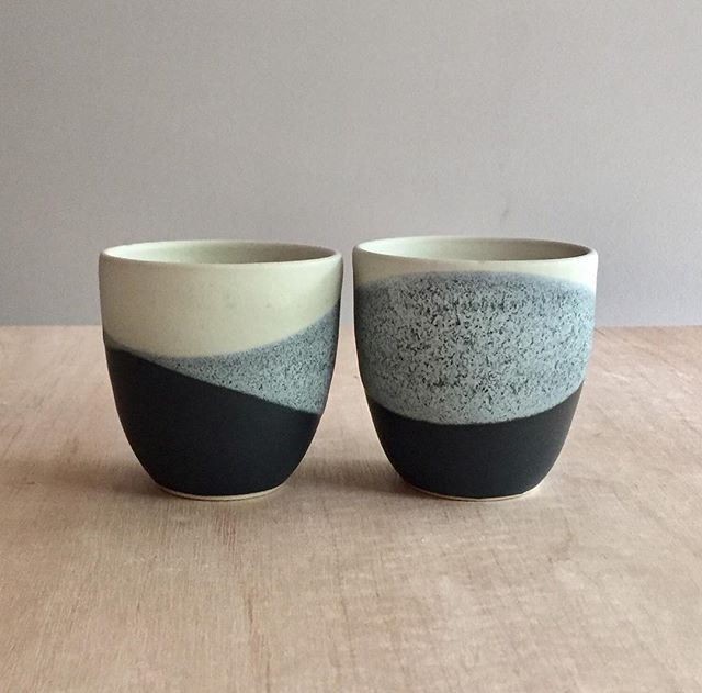 A couple of cups, off to Darwin tomorrow ✈️ #ceramicpainting